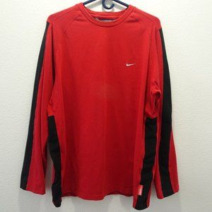 Vintage Nike Long Sleeve Shirt MMIV Large Red
